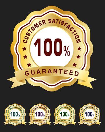 customer: Customer satisfaction badge