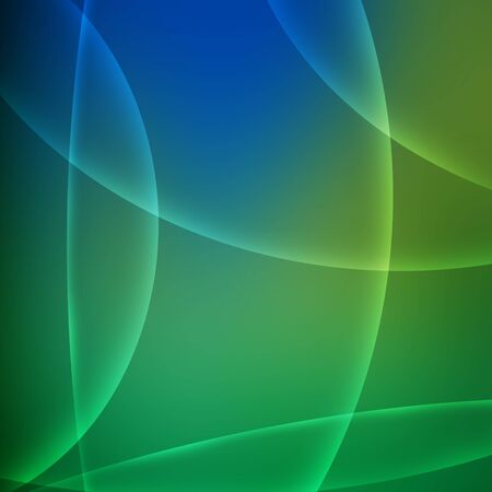 Abstract green and blue background. photo