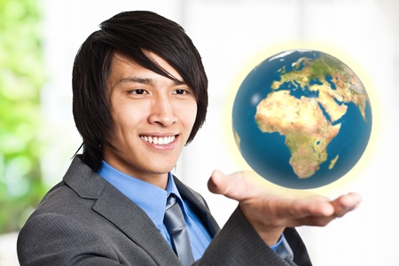 World in the hand photo