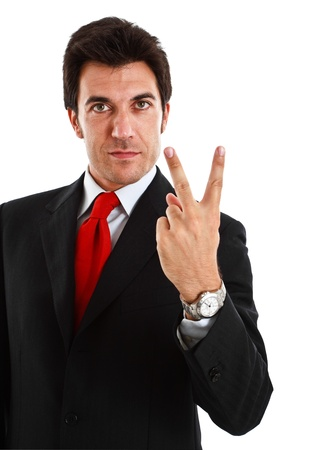 Portrait of a smiling businessman Stock Photo - 13979258