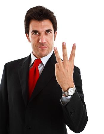 Portrait of a smiling businessman Stock Photo - 13979240