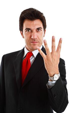 Portrait of a smiling businessman Stock Photo - 13979237