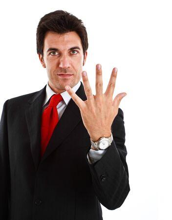 Portrait of a smiling businessman Stock Photo - 13979259