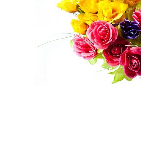 artificial flower: Artificial flowers background
