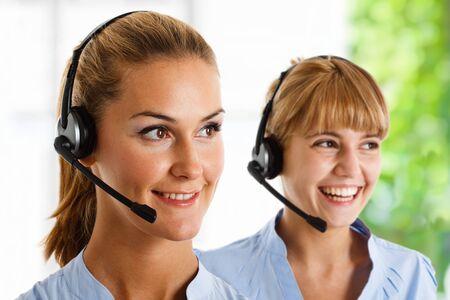 Portrait of a beautiful customer representative at work Stock Photo - 14115565