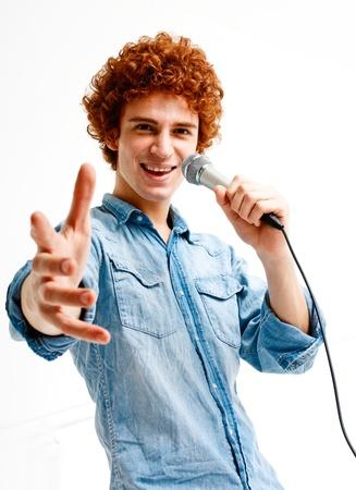 cantando: Retrato de una joven cantante