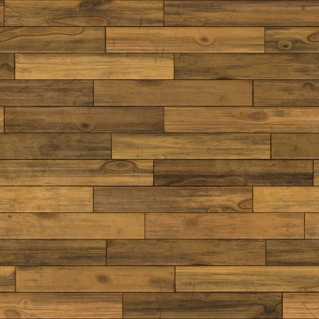 flooring: Seamless old wood texture illustration Stock Photo