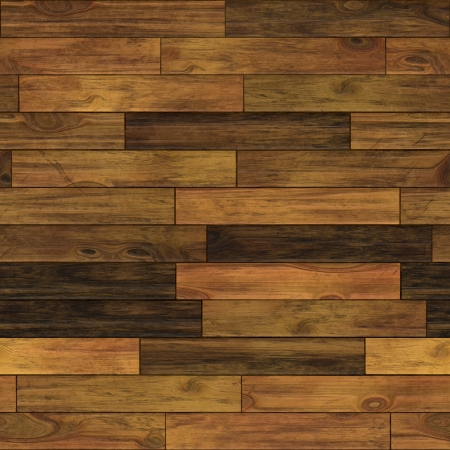 parquet floor: Aged wood illustration  Seamless pattern