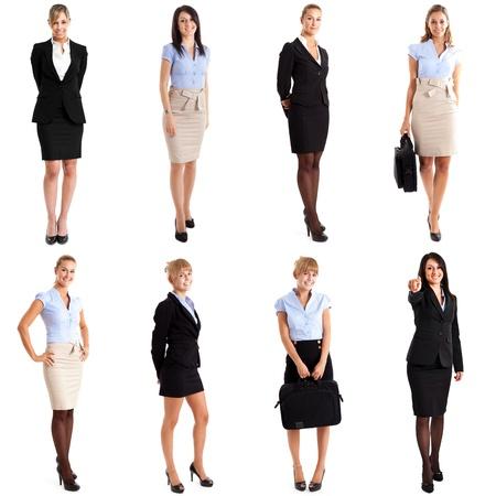 mujer cuerpo completo: Colecci�n de retratos de cuerpo entero de mujeres empresarias
