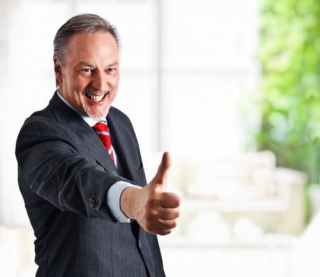 Portrait of a smiling businessman Stock Photo - 14330040