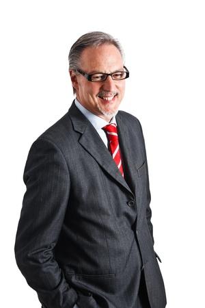 Portrait of a mature handsome businessman