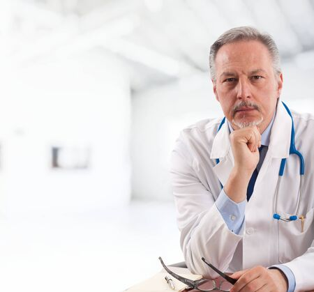 consultant physicians: Portrait of an experienced doctor