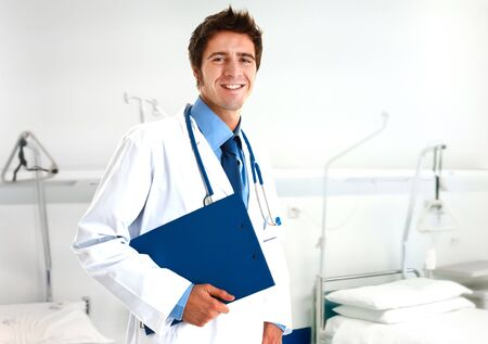 Portrait of a confident doctor Stock Photo - 14374990