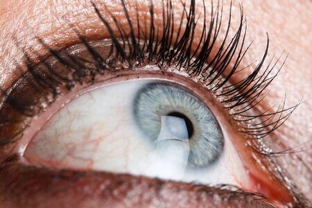 Eye of a beautiful woman photo