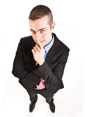 Portrait of an undecided man Stock Photo - 14748327