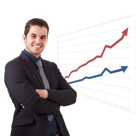 business trends: Business success and growth concept