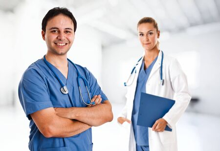 Portrait of a friendly doctor Stock Photo - 15271816