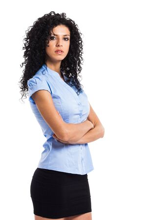 Portrait of a confident businesswoman Stock Photo - 15264928