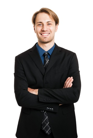 Portrait of a confident businessman Stock Photo - 15444463