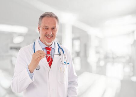 experienced: Portrait of an experienced doctor
