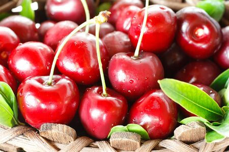 pulpy: Sweet pulpy cherries