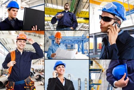 trabajador petroleros: Composici�n industrial