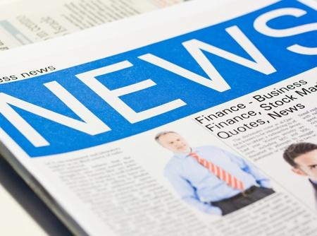 fake newspaper: Fake newspaper. Photos are from our portfolio.