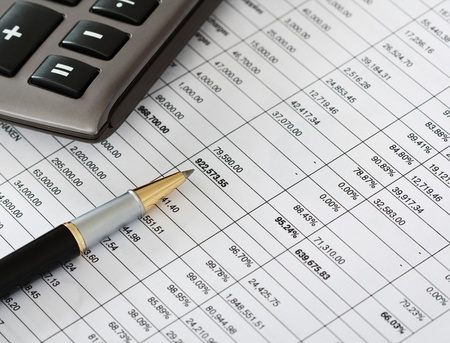 asset: Financial documents on a table