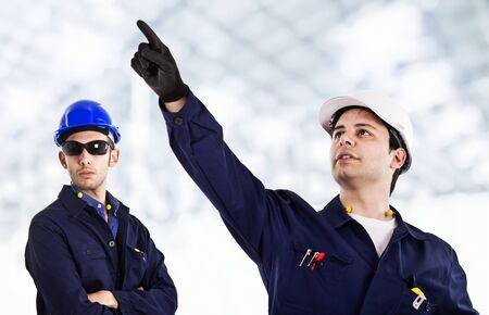 Engineers at work photo
