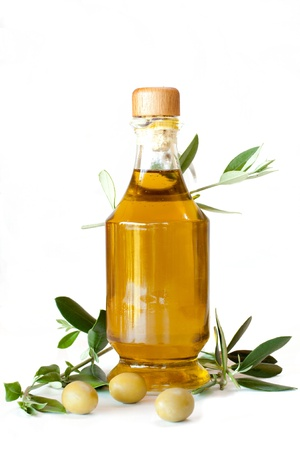 Extra virgin olive oil photo