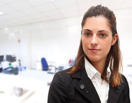 succesful: Portrait of a young succesful businesswoman