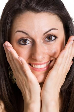 Portrait of a beautiful woman Stock Photo - 16599296