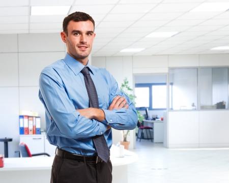 Porträt eines handsome businessman