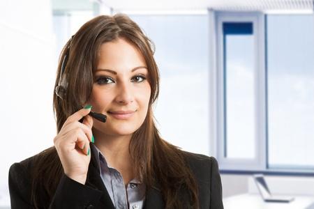 Portrait of a customer representative Stock Photo - 17340957