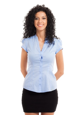 Portrait of a beautiful businesswoman Stock Photo - 17547526