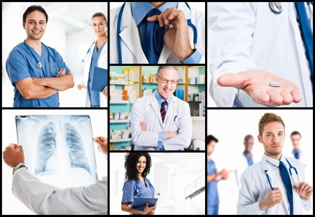 Medical composition Stock Photo - 22207332