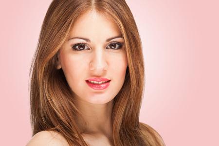 Portrait of a beautiful woman photo