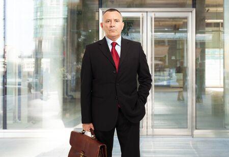 financier: Portrait of a business man