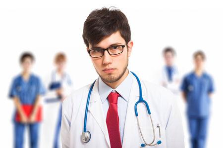 doctoring: Ritratto di un medico di fiducioso Archivio Fotografico