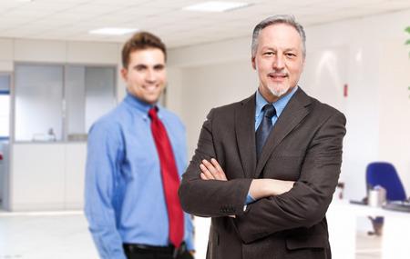 Businessmen in office photo