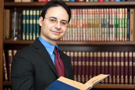 lawyers: Successful lawyer portrait in his studio