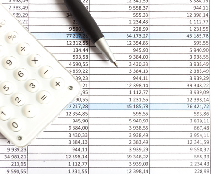 financial reports: Financial reports and charts