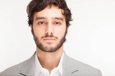 Portrait d'un beau jeune homme Banque d'images - 32258679