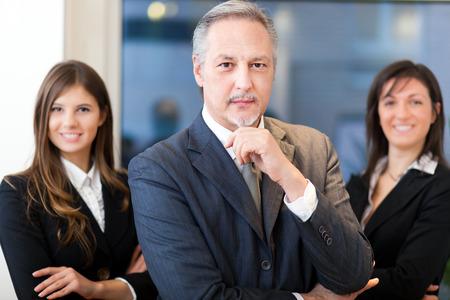 lideres: Equipo de negocios
