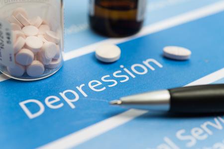 persona deprimida: documentos y medicamentos relacionados con la depresión