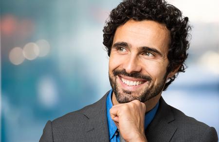 smiling businessman: Smiling businessman Stock Photo