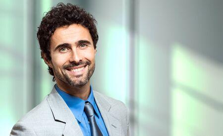 councilor: Portrait of an handsome businessman Stock Photo