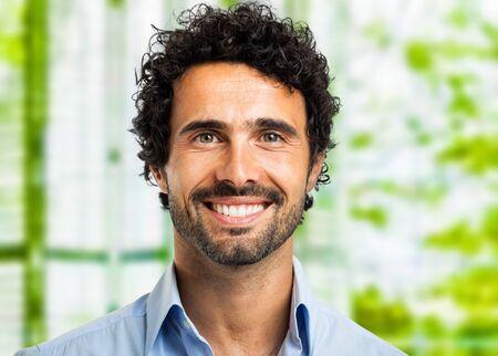 smiling businessman: Smiling businessman portrait