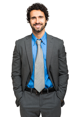 councilor: Handsome male manager portrait Stock Photo