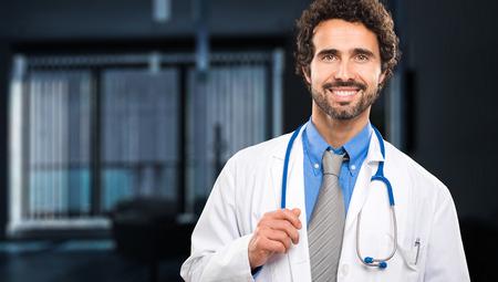 Handsome doctor portrait Stock Photo